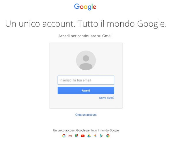 Account google